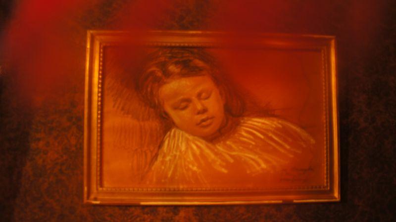 Painting of Jean Vigo, property of Luce Vigo
