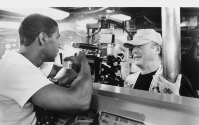 Crimson-Tide-Set-Denzel-Washington-and-Tony-Scott