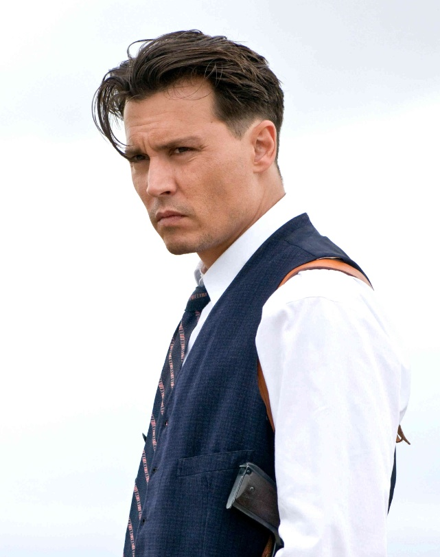 Johnny-depp-public-enemies-short-sides-v-shaped-hairstyle