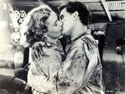 Frances Farmer, John Garfield, Flowing Gold