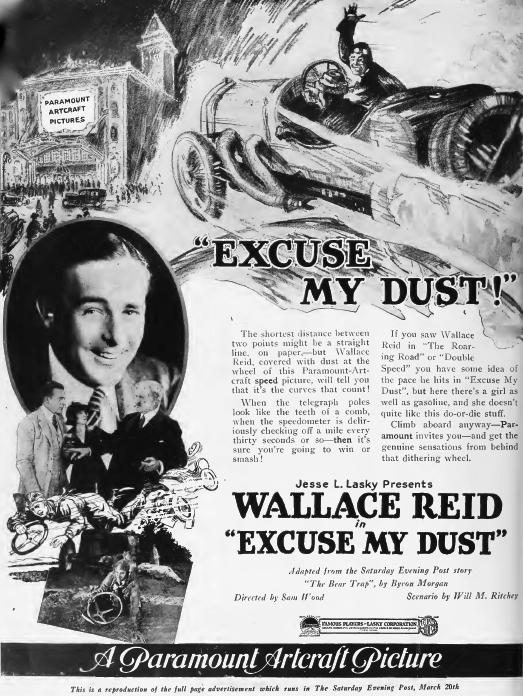 Wallace_Reid_in_Excuse_my_Dust_by_Sam_Wood_Film_Daily_1920