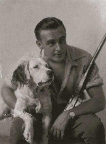 Wallace Reid dog