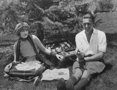 Wallace Reid picnic