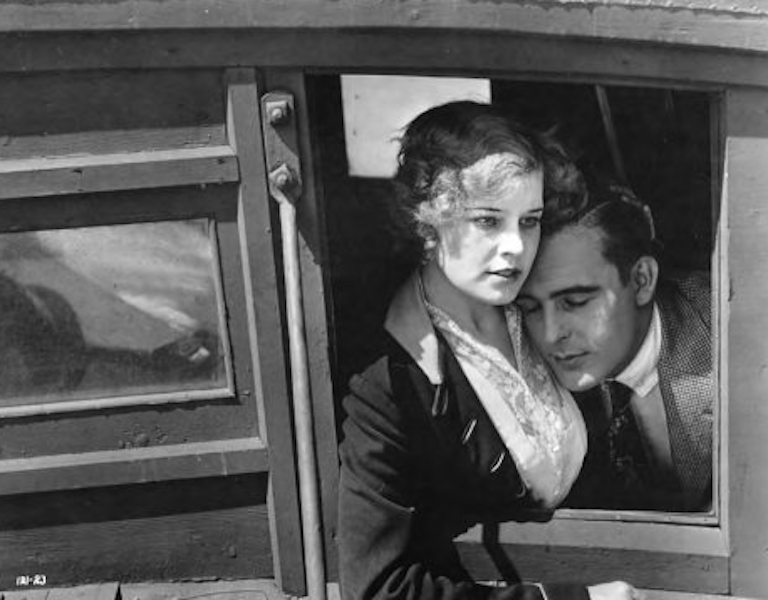 Wallace Reid with Claire Ridgely in The Selfish Woman