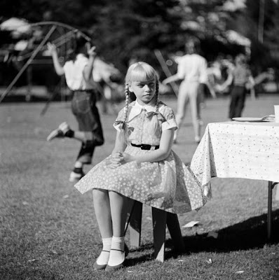 The Bad Seed Patty McCormack Fern Dayschool Picnic