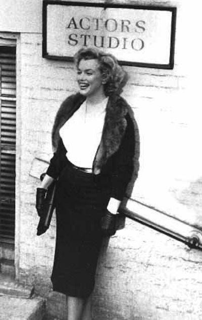 Marilyn actors studio