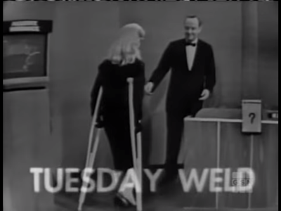 Tuesday weld what's my line