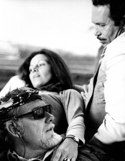 Peckinpah oates vega, courtesy timothy oates from Warren Oates A Wild Life