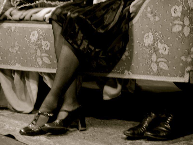 Charlotte rampling shoes photo by Kim Morgan
