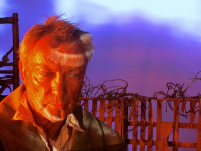 Udo Kier red by Kim Morgan