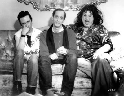 Stiv bators, john waters, divine, Polyester