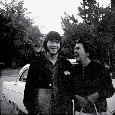 Neil Young and his mom