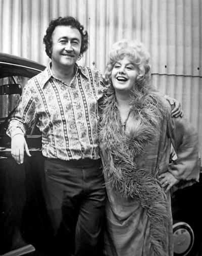 Curtis Harrington & Shelley Winters