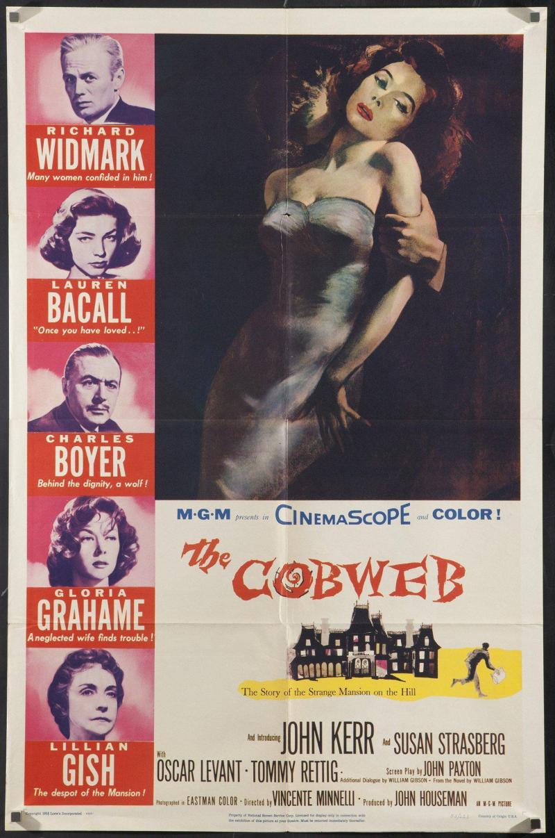 The-cobweb-vintage-movie-poster-original-1-sheet-27x41-2910