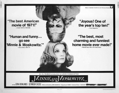 """73283319c From Ray Carney's """"Cassavetes on Cassavetes"""": """"I loved Frank Capra when I  was a kid. I saw Mr. Smith Goes to Washington and I believed in it."""